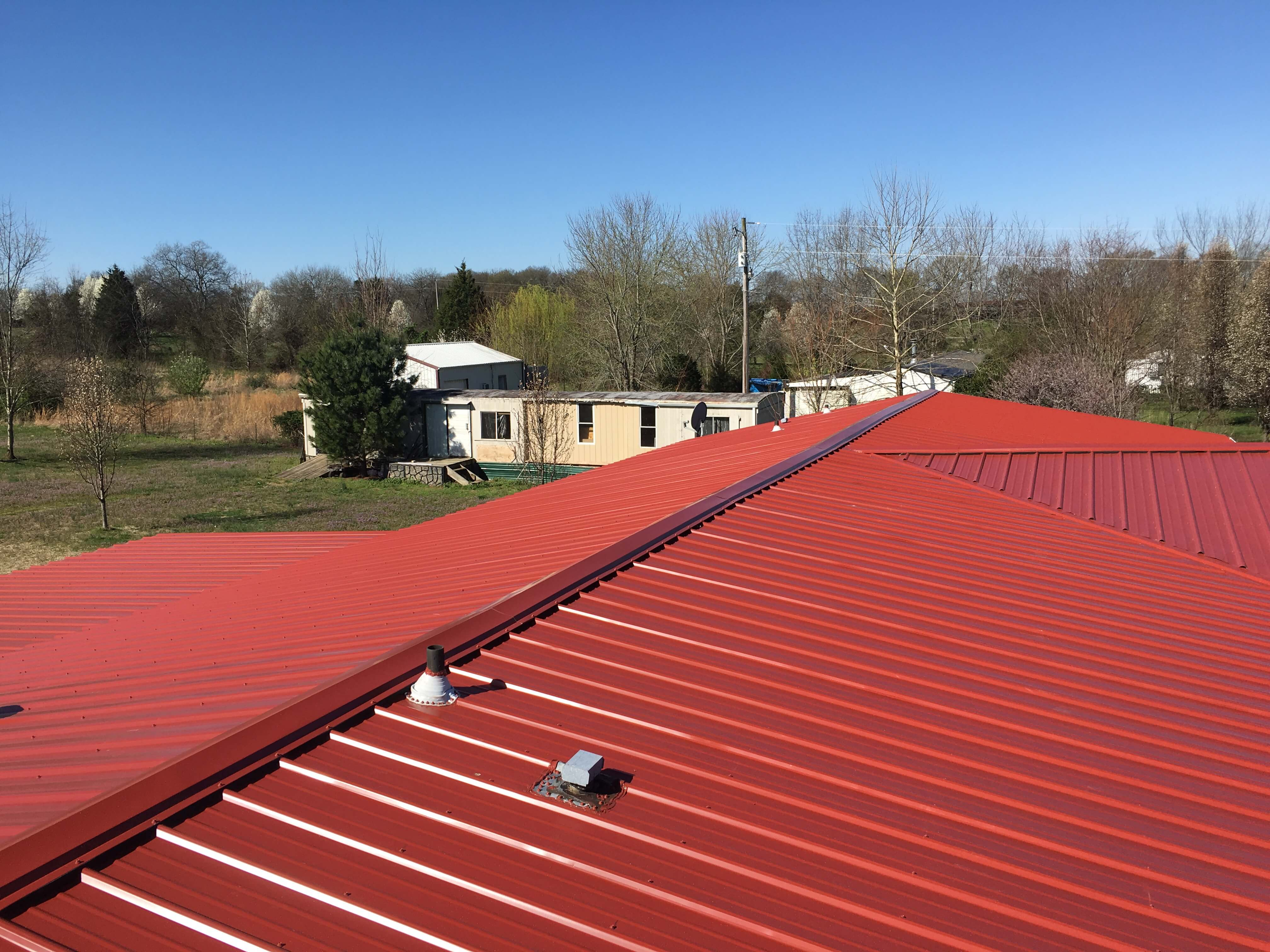 If Youu0027re Paying Less Than Four Times The Cost Of An Asphalt Roof Then The  Value Of A Commercial Metal Roof Is Greater.
