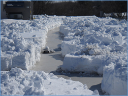 Flat Roof Snow Removal Machusetts Roofing Contractors